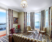 Panoramic sea view room